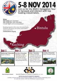 BMCC Delegation Tour to Sarawak