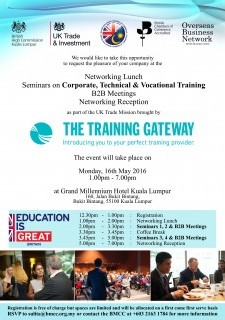 Seminars by The Training Gateway