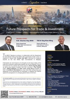 UK & Malaysia: Future Prospects for Trade & Investment