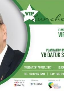 EUMCCI: VIP Luncheon with YB Datuk Seri Mah Siew Keong