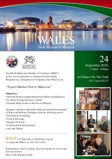Wales Trade Mission to Malaysia