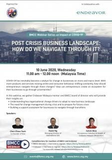 Post Crisis Business Landscape: How Do We Navigate Through It?