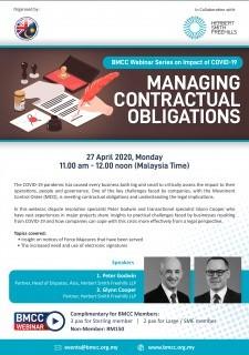 [WEBINAR] BMCC-Herbert Smith Freehills: Managing Contractual Obligations