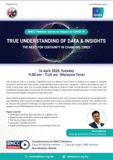 [WEBINAR] BMCC-IPSOS: True Understanding of Data & Insights