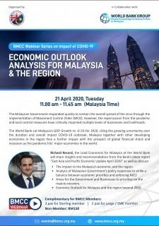 [WEBINAR] BMCC-World Bank: Economic Outlook Analysis For Malaysia & The Region