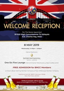 Welcome Reception for the British High Commissioner to Malaysia