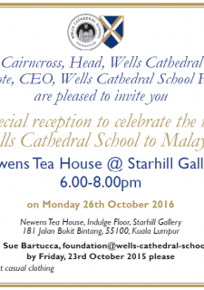 Visit of Wells Cathedral School to Malaysia