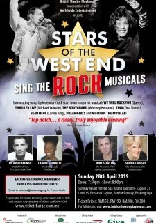 Stars of West End Sing The Rock Musicals