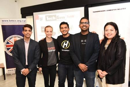 BMCC-TeAM's TechGen with ServisHero & Uber