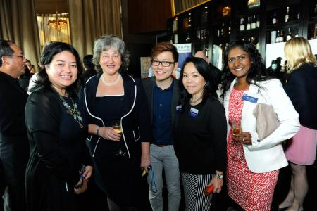 BMCC Networking Cocktail for H.E. Vicki Treadell