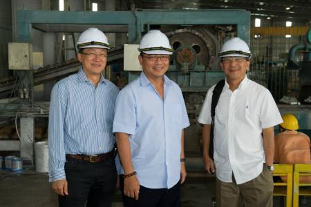 BMCC Sarawak Delegation - Press Metal Site Tour