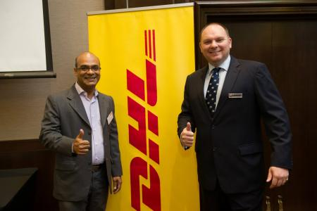 BMCC Speed Networking with DHL