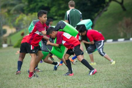 BMCC's 11th Annual Rugby Coaching Clinic