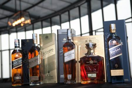 BMCC Whiskey Tasting with Johnnie Walker