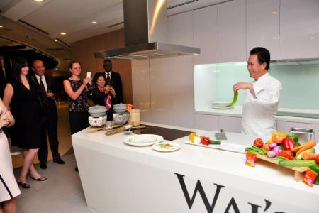 BMCC New Year's Drink with Chef Martin Yan
