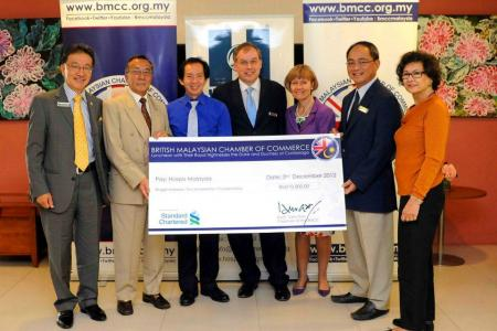 BMCC Presents RM210,000 to Hospis Malaysia
