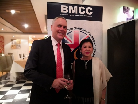 Delegation Reception with British Malaysian Society