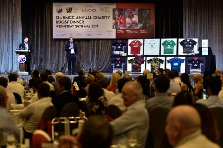 BMCC's 13th Annual Charity Rugby Dinner