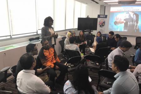 Petrofac Leadership Training 1