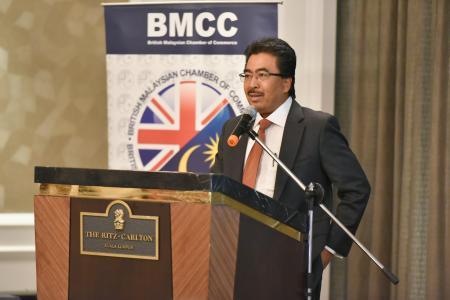 BMCC Premier Luncheon with Datuk Seri Johari Ghani