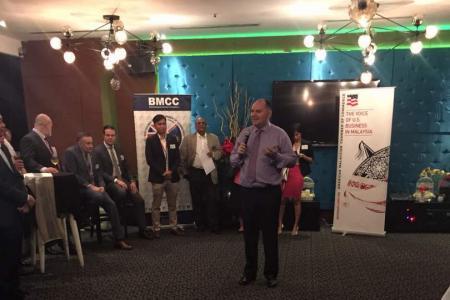 BMCC & AMCHAM Speed Networking