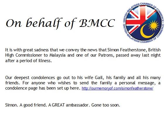 Deepest Condolence