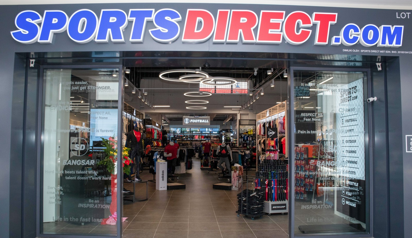 Sports Direct Unveils Latest Elevated Superstore At Bangsar Village 3 British Malaysian Chamber Of Commerce Bmcc