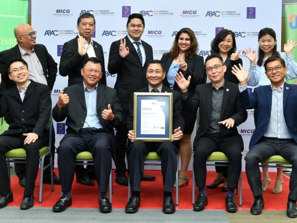 Malaysia's Mudajaya Group certified for ISO 37001 Anti-Bribery Management System by ABAC