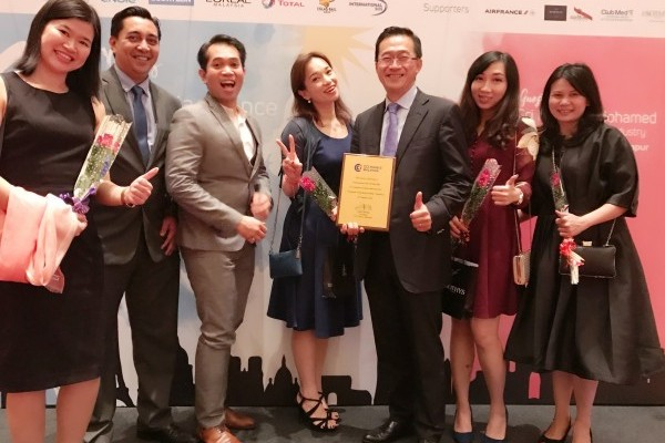 International SOS Malaysia Wins Corporate Social Responsibility Award.