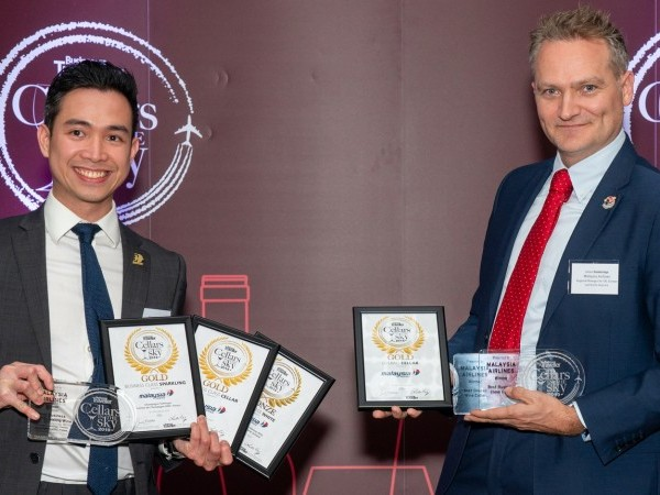 Malaysia Airlines Takes Home Top Prizes At The Cellars In The Sky Awards
