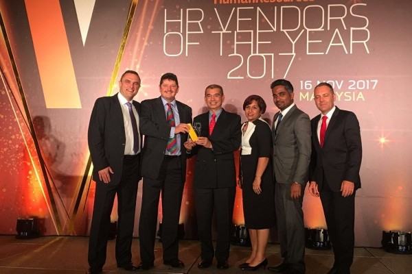 Crown Malaysia wins two gold awards at HR Vendors of the Year 2017