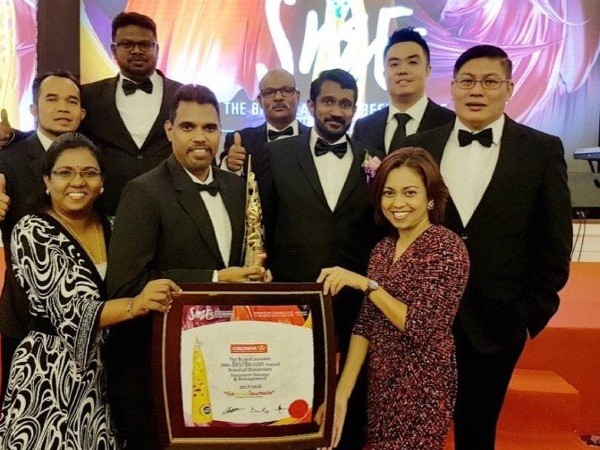 Crown Malaysia receives Brand of Distinction Award