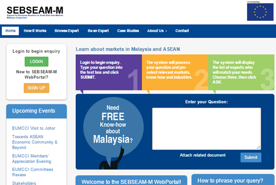 SEBSEAM-M Web Portal