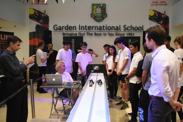 Garden International School teams win F1 in Schools challenge