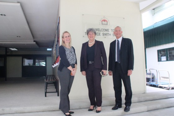 The Alice Smith School was honoured to welcome HE Vicki Treadell, the British High Commissioner