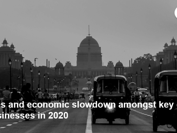 Trade disputes and economic slowdown amongst key challenges for Indian businesses in 2020