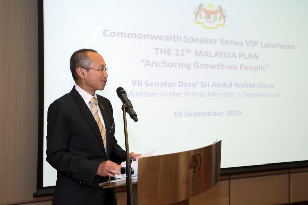 Updates from the Commonwealth Speaker Series VIP Luncheon