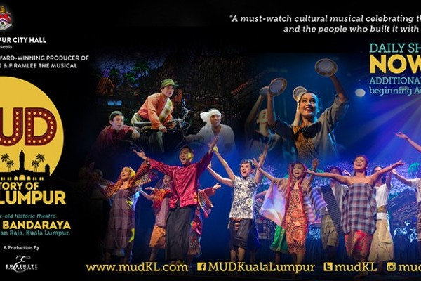 Kuala Lumpur City Hall Collaborates with Enfiniti Vision Media to stage MUD: STORY OF KUALA LUMPUR