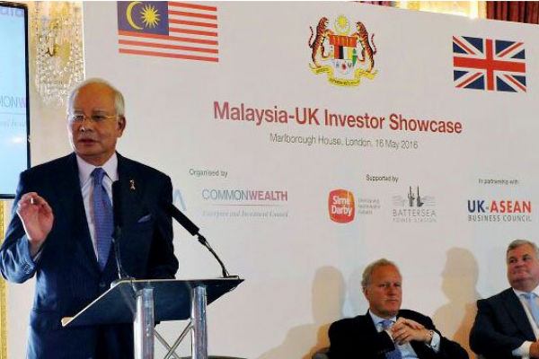 Najib: Malaysia, UK have strong foundation to forge ahead