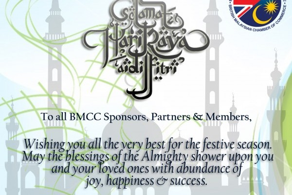 Warm wishes from the British Malaysian Chamber of Commerce