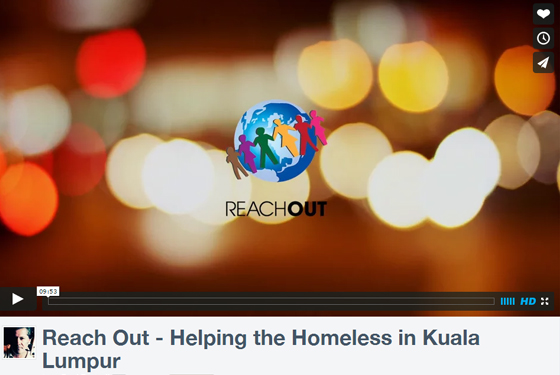 Local NGO Reach Out, Promo video courtesy of BMCC Member; Calamity Studio (M) Sdn Bhd.