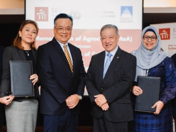Direct English Partners with SEGi to Raise Students' English Proficiency Level