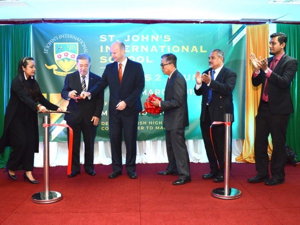 St John's International School Breaks New Ground With New Campus Opening