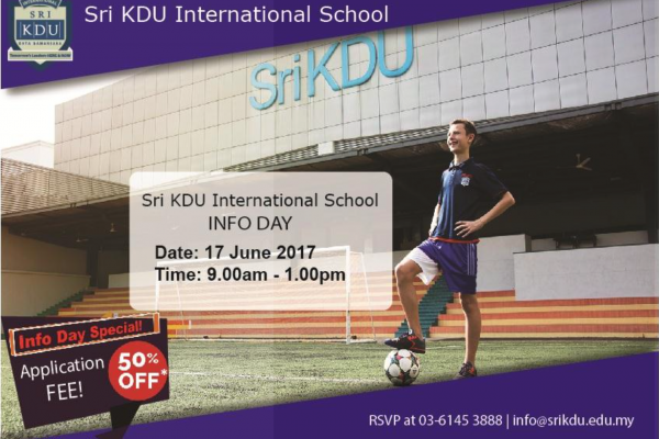 Sri KDU International School INFO Day