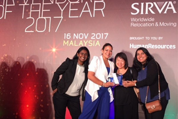 SIRVA Wins 4 Vendor of the Year Awards by Human Resources Magazine