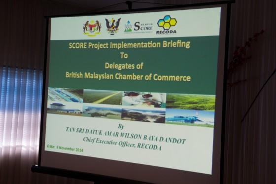 BMCC Sarawak Delegation Tour 5 - 8 November 2014