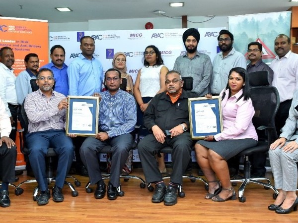 RM Leopad Sdn Bhd certified for ISO 37001 Anti-Bribery Management System by ABAC