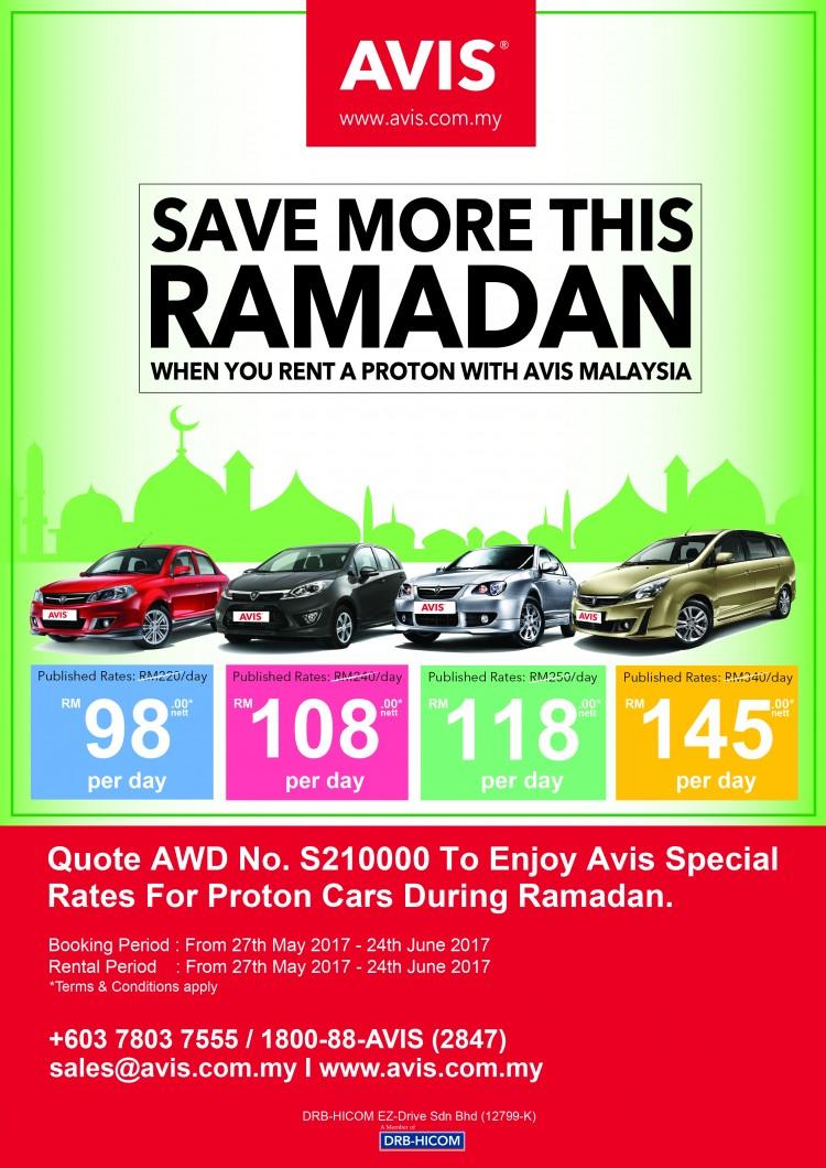 AVIS Ramadan Kareem Promotion