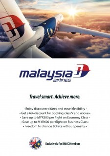 6% on Ticket Bookings with MAS