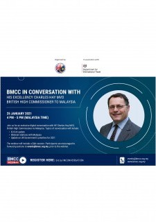 BMCC In Conversation with His Excellency Charles Hay MVO, British High Commissioner to Malaysia